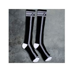ADDICTED Fetish Long Sock - White