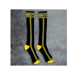 ADDICTED Fetish Long Sock - Yellow