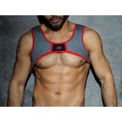 ADDICTED Fetish Spacer Harness - Red