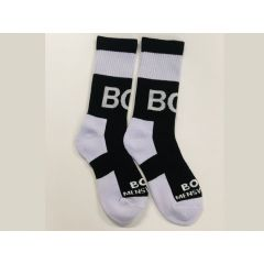 Box Menswear Socks-Black - O/S
