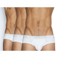 C-IN2 Low Rise Brief 3 Pack - White