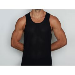C-IN2 Scrimmage Relaxed Tank Bob - Black