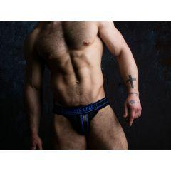 LOCKER GEAR Jockstrap with Zipper - Blue