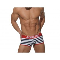 ADDICTED Jock Backless Boxer - Sailor