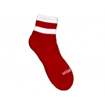 Barcode Socks Petty  - Red White - S/M