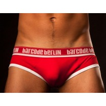 Barcode Backless Underwear Jay - Red White